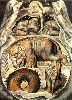 Behemoth and Leviathan - William Blake