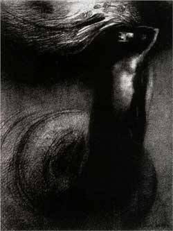 Death: My irony surpasses all others! - Odilon Redon