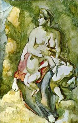 Medea - Paul Cezanne