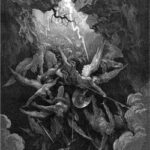 Hell Receiving Fallen Angels - Paradise Lost Illustration - Gustave Dore