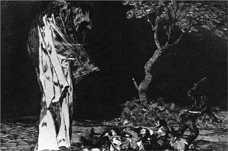 The Madness of Fear - Francisco Goya
