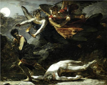 Justice and Divine Vengeance pursuing Crime - Pierre-Paul Prud'hon