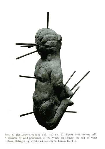 Louvre voodoo doll