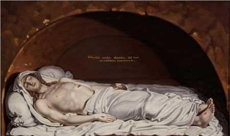 Jesus at the tomb - Vladimir Borovikovsky