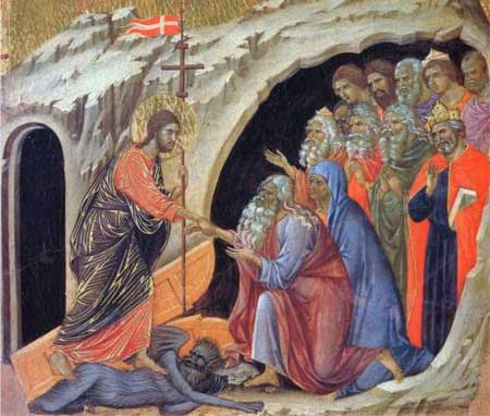 Descent into Hell - Duccio