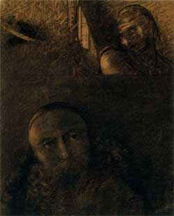 Faust and Mephistopheles - Odilon Redon