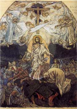 Descent into Hell - Viktor Vasnetsov