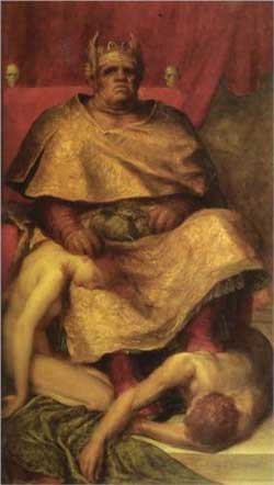 Mammon - George Frederick Watts