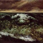 The Angry Sea - Gustave Courbet