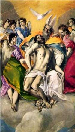 Ascension of Jesus - El Greco