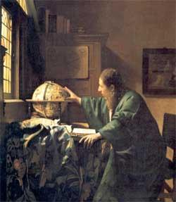 The astronomer - Johannes Vermeer