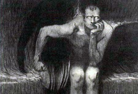 Lucifer - Franz Stuck, c.1890