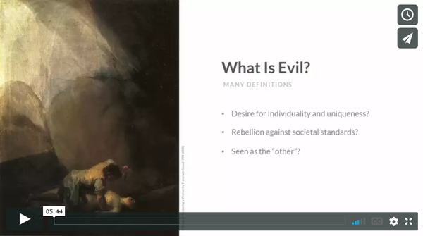 Free Demonology Lesson: What is Evil?