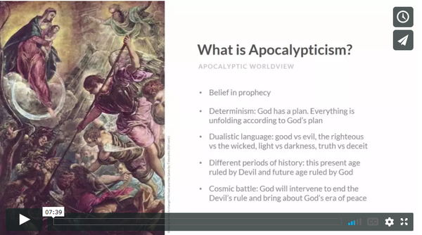 Free Demonology Lesson: What is Apocalypticism?